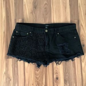 { Forever 21 } Distressed Shorts